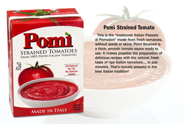 Pomi Strained Tomatoes, 750g