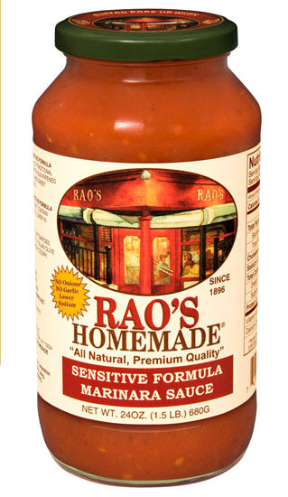 Rao's Sensitive Formula Marinara Sauce 24 oz. Jar