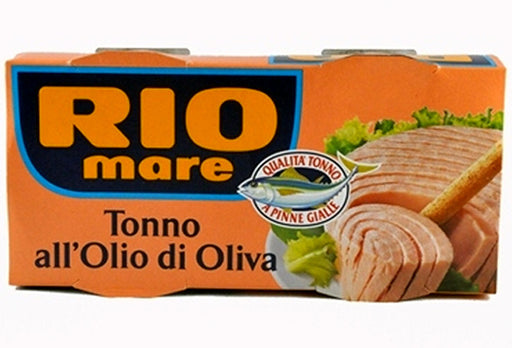 Rio Mare Tonno all'Olio di Oliva, 2 cans x 160g (Pack of 2)