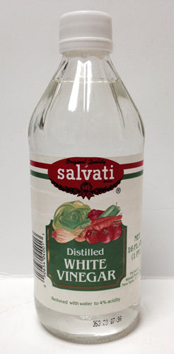 Salvati Distilled White Vinegar, 16 FL OZ