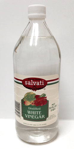 Salvati Distilled White Vinegar, 32 FL OZ
