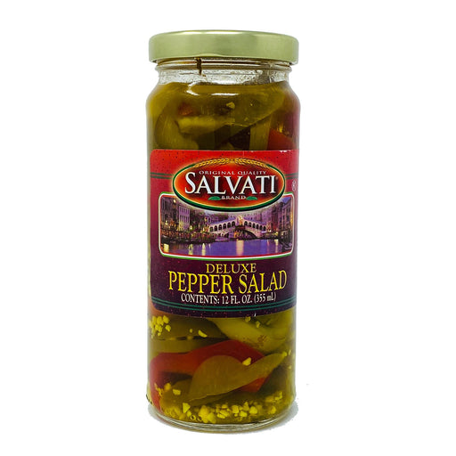 Salvati Deluxe Pepper Salad, 12 FL. OZ.