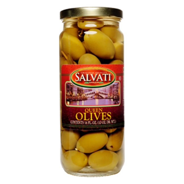 Salvati Queen Olives, 16 FL OZ