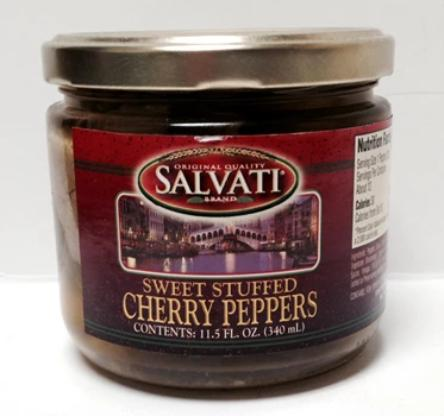 Salvati Sweet Stuffed Cherry Peppers, 11.5 FL OZ