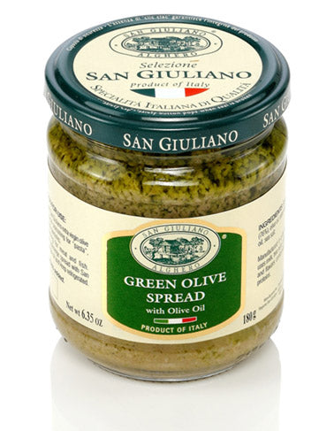 San Giuliano Green Olive Spread with Olive Oil