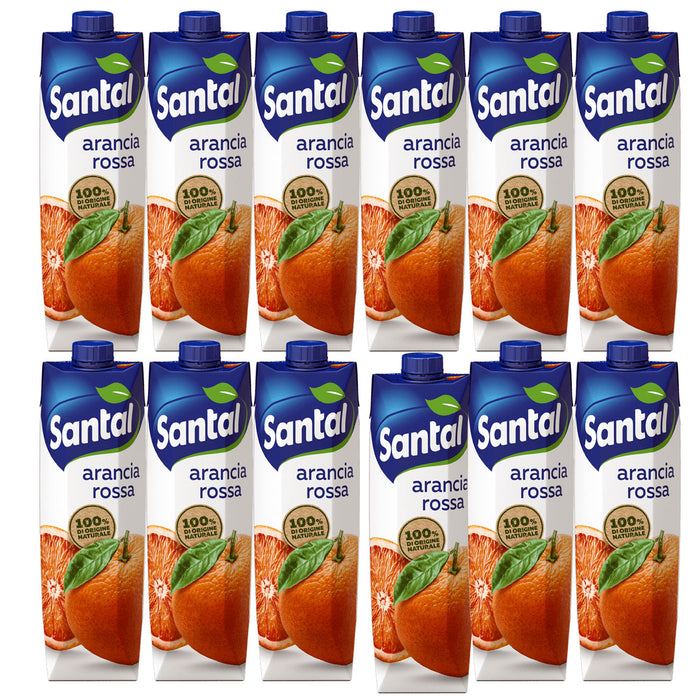 Santal Arance Rosse - Blood Orange Juice, 1 Liter - 1000 ml
