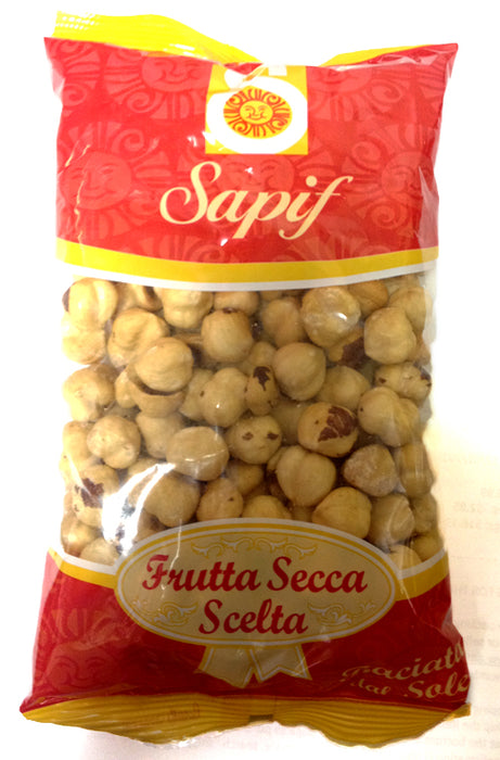 Sapif Italian Peeled Hazelnuts Roasted, 7 Oz (200g)