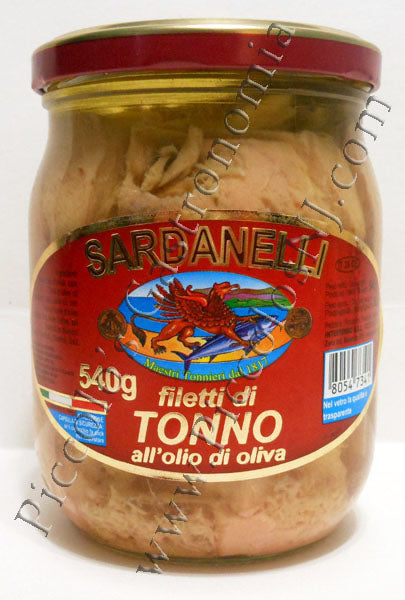 Sardanelli Tuna in Olive Oil 540g