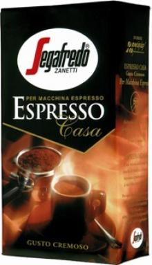 Segafredo Espresso Casa Ground Coffee, 8.8oz 250g