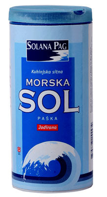Solana Pag Fine Table Sea Salt, 500g