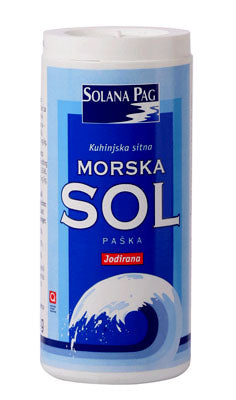 Solana Pag Fine Sea Salt, 8.75 oz