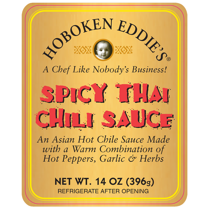 Hoboken Eddie's Spicy Thai Chili Sauce 14 oz