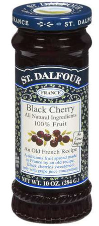 St. Dalfour Black Cherry Fruit Spread 10oz