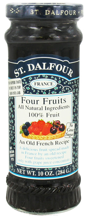 St. Dalfour Four Fruits Spread 10oz