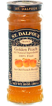 St. Dalfour Golden Peach Fruit Spread 10oz