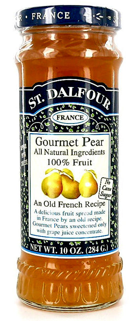 St. Dalfour Gourmet Pear Fruit Spread 10oz