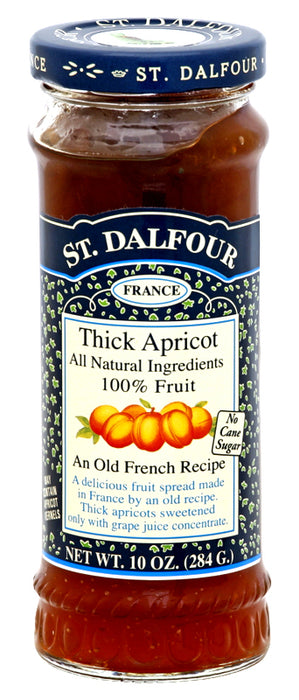 St. Dalfour Thick Apricot Fruit Spread 10oz