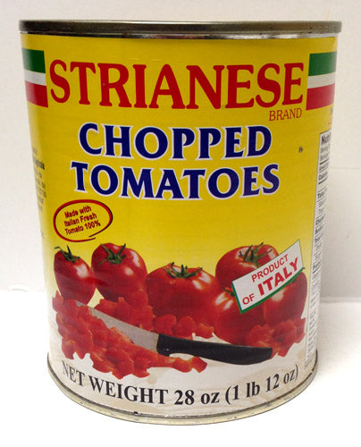 Strianese Chopped Tomatoes, 28 oz