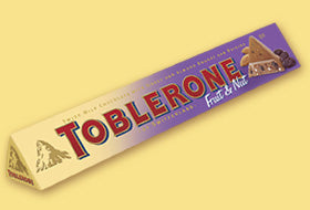 Toblerone Fruit & Nut Chocolate 100g