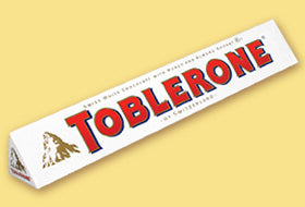 Toblerone White Chocolate 100g