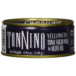 Tonnino Solid Tuna in Olive Oil Can, 4.94 oz.