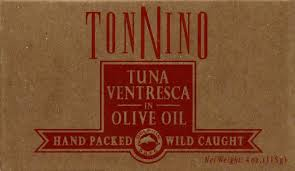 Tonnino Tuna  Ventresca in Olive Oil, 115 Can