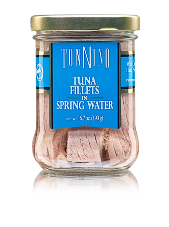 Tonnino Tuna Fillets in Spring Water 6.7 oz.
