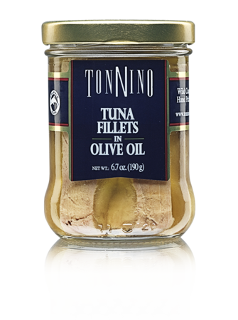 Tonnino Tuna Fillets in Olive Oil 6.7 oz.