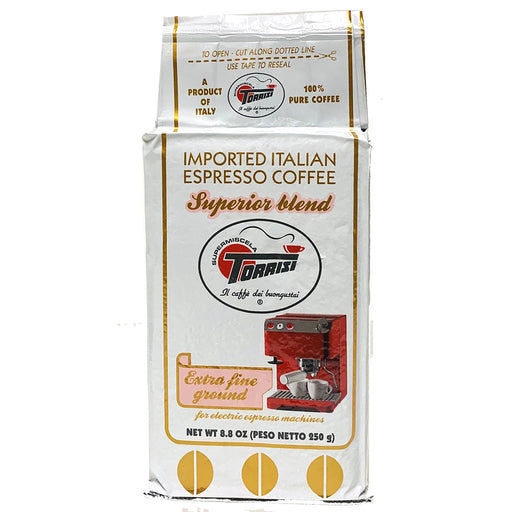 Caffe Torrisi Superior blend Extra Fine Ground Espresso, 250g