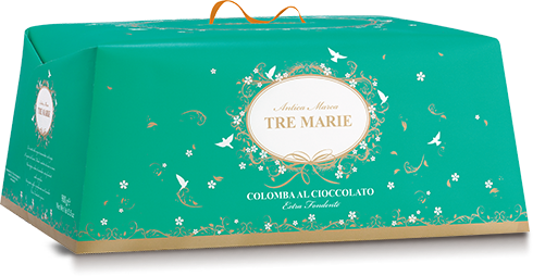 Tre Marie Dark Chocolate Colomba 900g