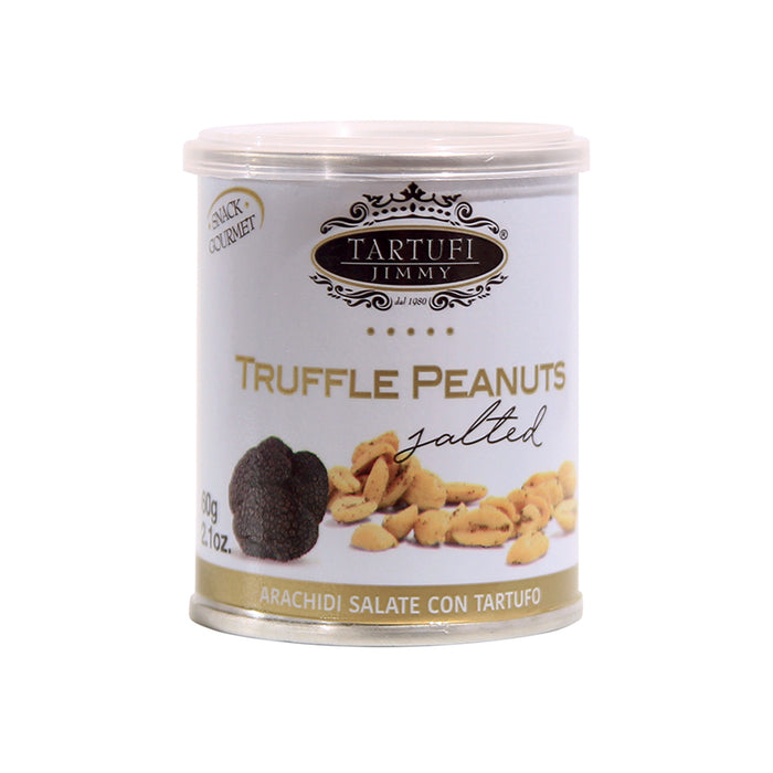Tartufi Jimmy Salted Peanuts with Truffle, 2.1 oz | 60g