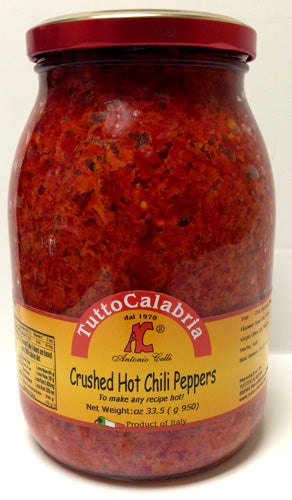 Tutto Calabria Crushed Hot Chili Peppers, 33.5 oz