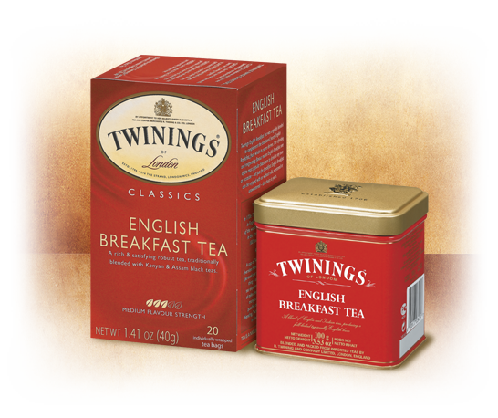 Twinings English Breakfast, 20 Tea Bags, 40g