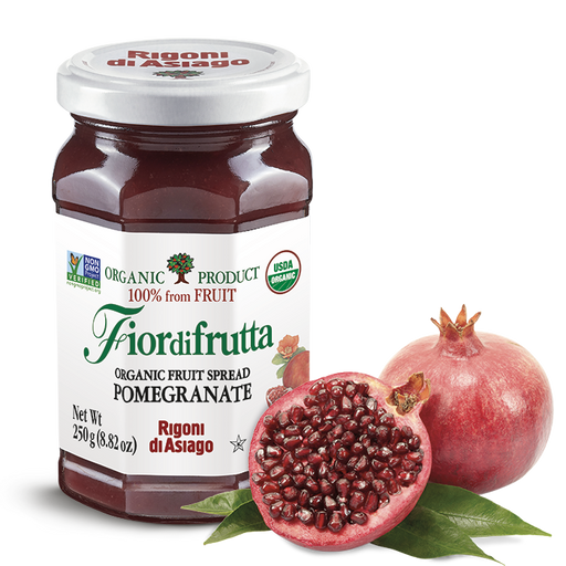 Rigoni di Asiago Organic Pomegranate Fruit Spread, 8.82oz | 250g