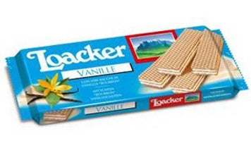 Loacker Vanille Wafer, 90g
