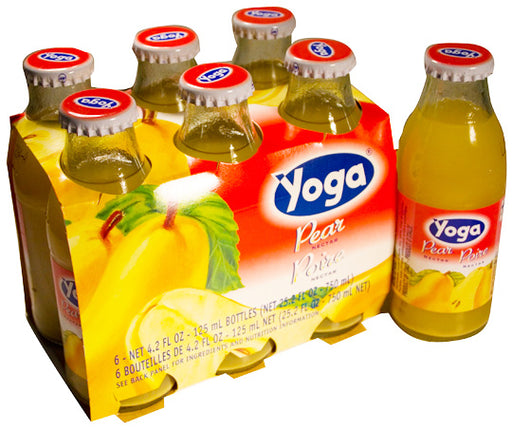 Yoga Pear, 6 x 125 ml