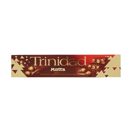 Motta Trinidad Milk Chocolate with Whole Hazelnuts, 8.8 oz