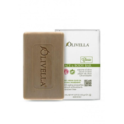 Olivella Bar Soap Face & Body Bar, 5.29oz