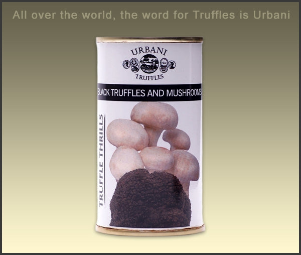 Urbani Black Truffles and Mushrooms 6.1oz (180gr)