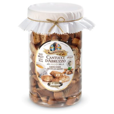 Falcone Cantucci Mandorle Tub, Almond Cookies Tub, 28.2 oz | 800g