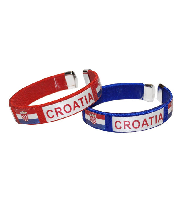 Croatia C Bracelet, RED