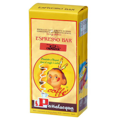 Passalacqua Cremador Whole Bean Coffee, 1kg | 2.2 lbs