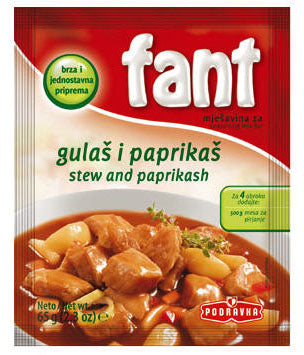 Fant Stew and Paprikash (gulas i paprikas), 2.3 oz.