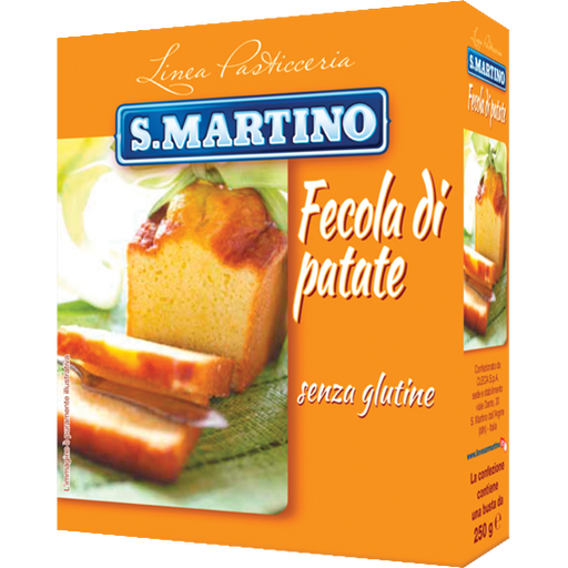 S.Martino Fecola di Patate, Potato Starch, 8.8 oz | 250g