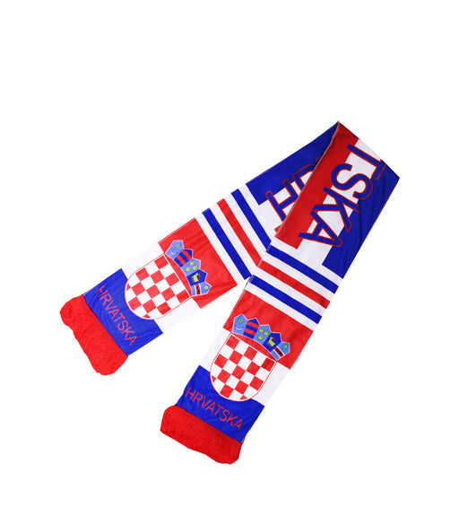 Croatia Fleece Scarf