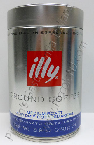 illy Ground Coffee Medium Roast Drip Coffee 250g can
