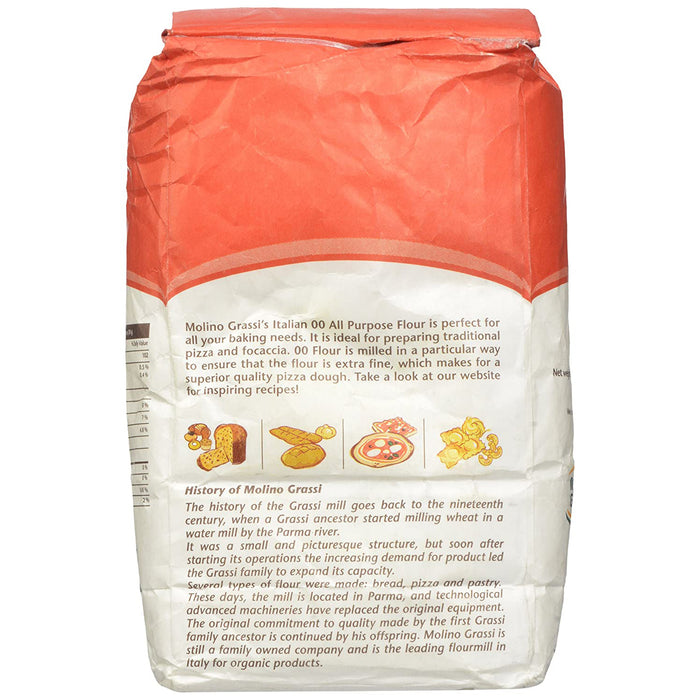 "Molino Grassi ""00"" All Purpose Flour, 2.2 lb 