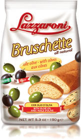 Lazzaroni Bruschette With Olives 150g