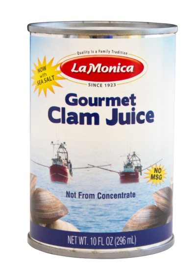 LaMonica Cape May Gourmet Clam Juice, 10 FL oz. can