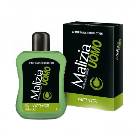 Malizia Uomo After Shave Vetyver, 100ml
